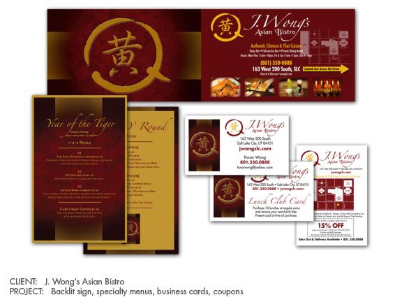 J. Wong's Asian Bistro